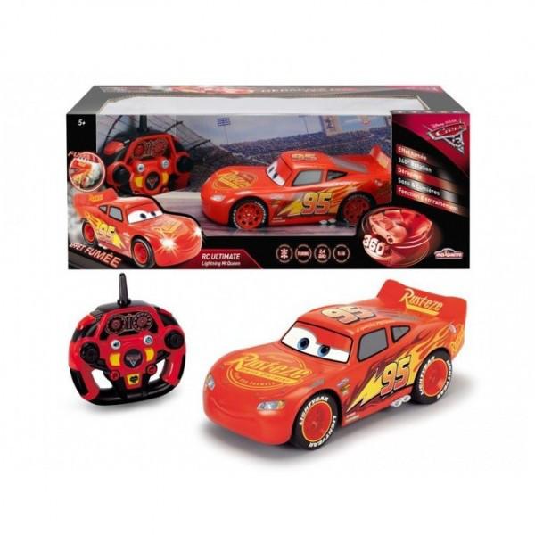 Автомобиль Dickie Toys Cars 3 Молния МакКуин на управлении