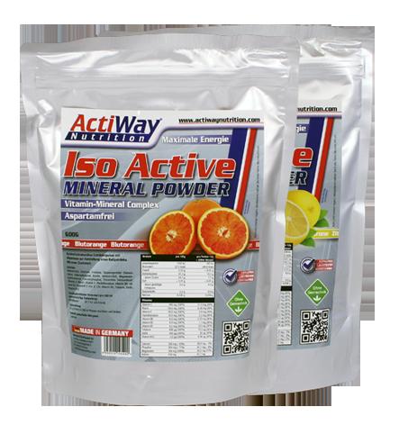 Изотоник ActiWay Nutrition - Iso Active (600 грамм) вишня