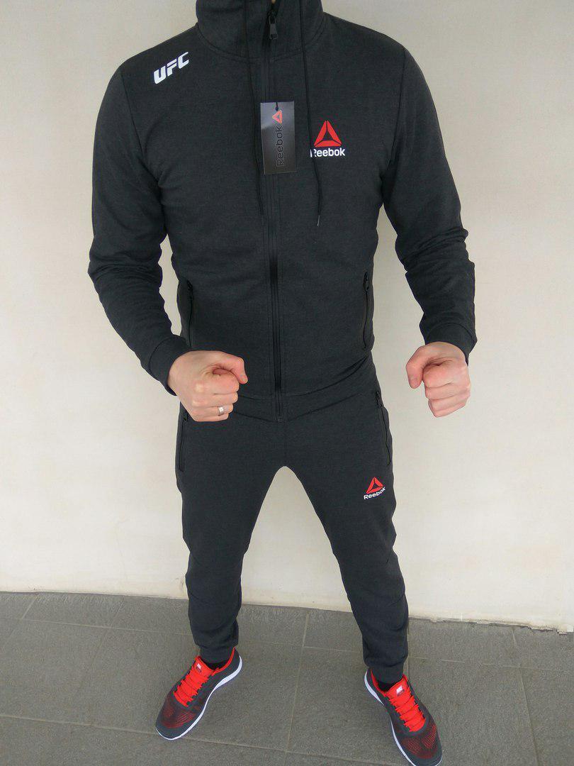 f77a7924ea75f5 Модный мужской спортивный костюм Reebok UFC(реплика) - Интернет-магазин  вещей
