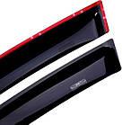 Дефлекторы окон ветровики на OPEL Опель Astra H 2004-2009 (3-ех дверный HB), фото 2