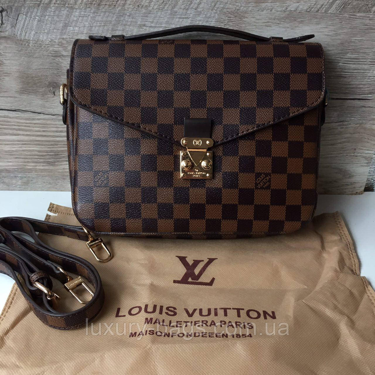 7b314e19c642 Женская сумка Louis Vuitton Pochette Metis Луи Виттон монограм -  BaGsInTrend в Одессе
