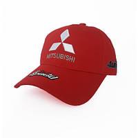 Мужская кепка с автомобильным логотипом Mitsubishi