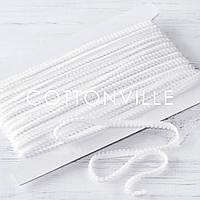 Тесьма 9 мм белая, фото 1