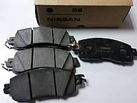 Передние тормозные колодки (оригинальные) на Nissan Leaf, фото 1