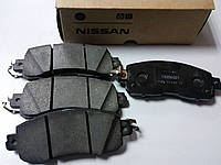 Передние тормозные колодки (оригинальные) на Nissan Leaf