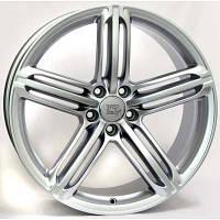 WSP Italy W560 R18 W8 PCD5x112 ET39 DIA66.6 Silver
