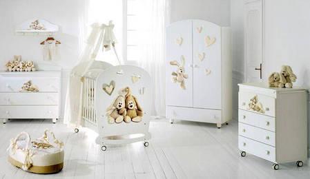 Комплект мебели для детской комнаты Baby Expert Cremino by Trudi, фото 2
