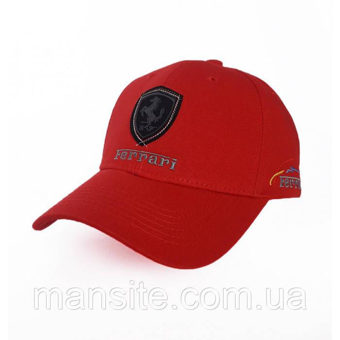 Мужская кепка с автомобильным логотипом Ferrari - MAN` s SITE в Киеве 2deef729ca0bf