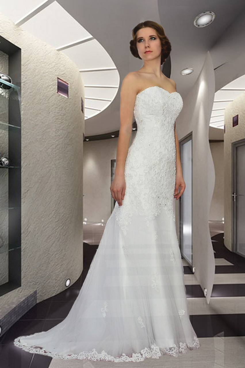 8399e5b5f688830 Свадебное платье