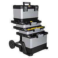 Ящик на колесах STANLEY 1-95-622 FatMax® Rolling Workshop металлопластмассовый