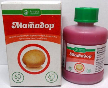Протруйник Матадор  60мл (60кг картоплі)