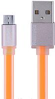 Кабель microUSB Colorful 1м  orange Remax 311801, фото 1