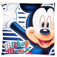 Подушка для мальчиков оптом, Disney, 40*40 см,  № MIC-H-PILLOW-23