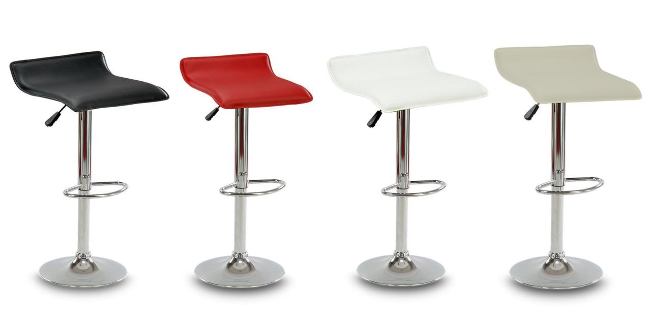 Барный стул Hoker VIA с регулированием высоты и подножкой