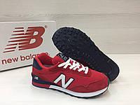 Кроссовки мужские New Balance 515 - RED, сетка+замша, подошва - пенка. Размер:  40, 41, 42, 43, 44.