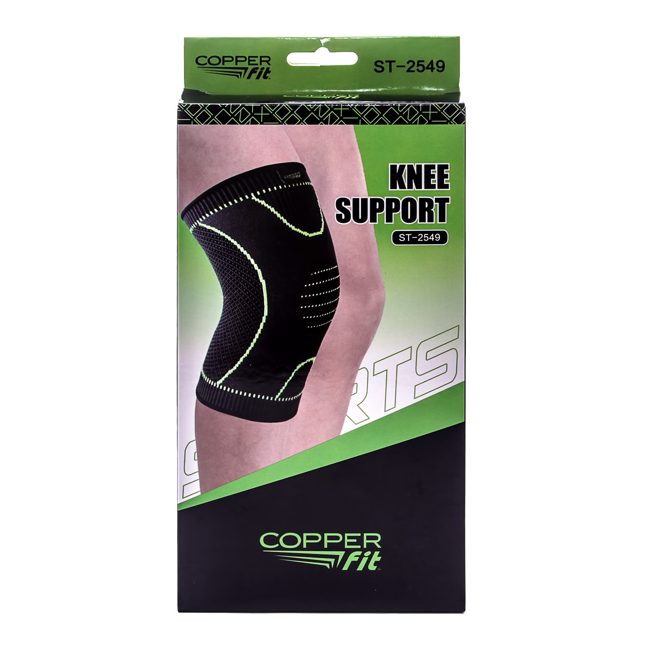 Захисний наколінник-фіксатор суглобів Copper Fit Knee Support