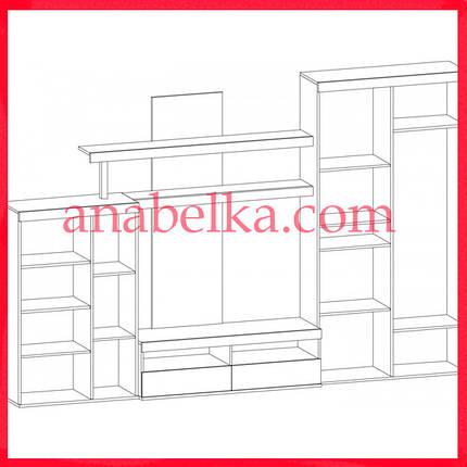 Гостиная  Кай NEW (Мебель Сервис), фото 2