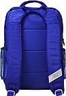 Рюкзак школьный синий Гоночная машина, фото 3