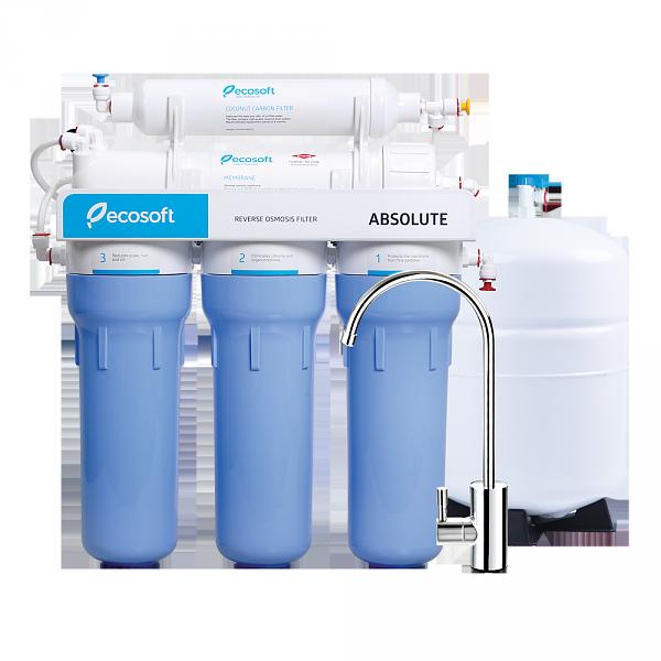 Фильтр для воды обратный осмос Ecosoft Absolute 5-50