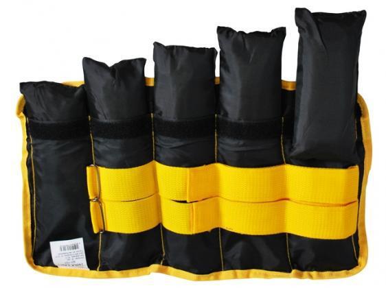 Утяжелители для ног и рук наборные 0,5-2,5 кг