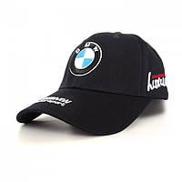 Мужская кепка с автомобильным логотипом BMW Синий