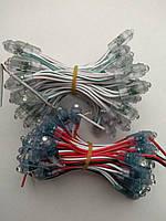 Светодиод быстрого монтажа 9мм; 5В; белый, зеленый, синий, красный, желтый