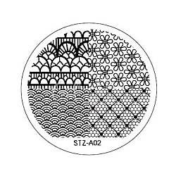 Диск для стемпинга круглый STZ-02