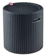 Стіл-термос Keter Cool Stool 3 в 1 графіт