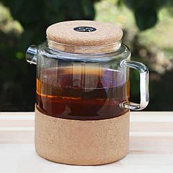 Заварник для чая стеклянный 1 литр