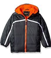 Куртка iXtreme серая с оранжевым для мальчика от 2 до 5 лет, фото 1