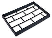Форма для садовой дорожки Hormusend 60x40 см Клинкерный камень