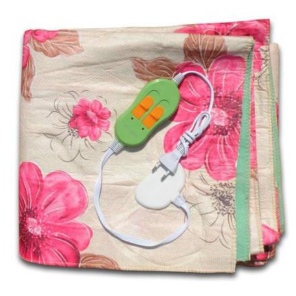 Електрична простирадло Lux Electric Blanket Pink 140?155 см, фото 2