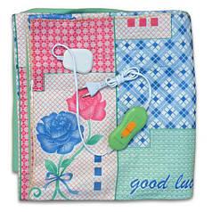 Электрическая простынь Lux Electric Blanket Blue 120×155 см