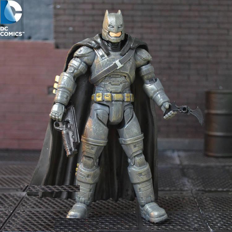 Фигурка Бэтмена в броне с аксессуарами 16СМ - Batman Armored, Batman v Superman, DC Comics