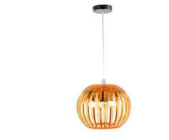 Люстра, 1 лампа, подвесная, пластик