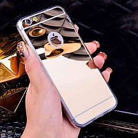 Зеркальный золотой чехол для iPhone 7 и iPhone 8, фото 1
