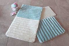 Набор ковриков в ванную комнату Alessia 1004 60х100, 50х60 и 40х60
