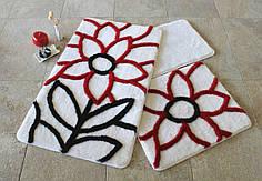 Набор ковриков в ванную комнату Alessia 1009 60х100, 50х60 и 40х60