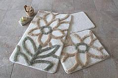 Набор ковриков в ванную комнату Alessia 1010 60х100, 50х60 и 40х60