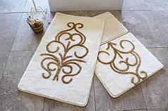 Набор ковриков в ванную комнату Alessia 1014 60х100, 50х60 и 40х60