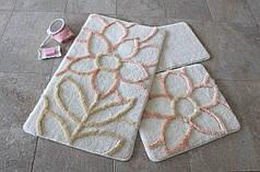 Набор ковриков в ванную комнату Alessia 1011 60х100, 50х60 и 40х60
