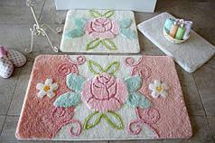 Набор ковриков в ванную комнату Alessia 1016 60х100, 50х60 и 40х60