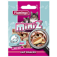 Karlie-Flamingo (КАРЛИ-ФЛАМИНГО) MINIZ MINI MICE МИНИЗ рыба мышка лакомство для кошек в виде мышек со вкусом рыбы (0.05)