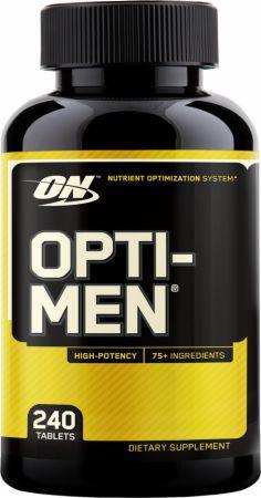 Комплекс витаминов Optimum Nutrition - Opti-Men Nutrient Optimization System (240 таб)
