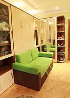 Двуспальная шкаф-кровать с диваном ., фото 1