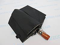 Чоловічий напівавтомат зонт двосторонній з подвійною тканиною, фото 1