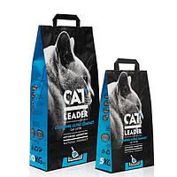 Кэт Лидер 5 кг (CAT LEADER) ультра-комкующийся наполнитель в кошачий туалет