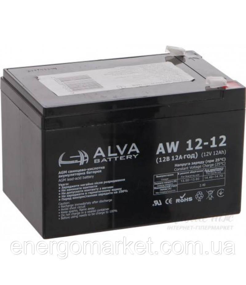 Аккумуляторная батарея ALVA AW12-12