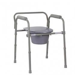 Стул - туалет складной металлический ( высота: 38-54 )