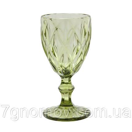 Бокал для вина Bailey Miranda 300 мл зеленый (101-81), фото 2